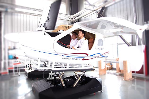 CTLS飛行模擬器_六軸動感 2
